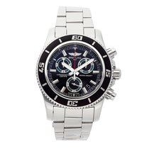 Breitling Superocean Chronograph M2000 Steel 46mm Black No numerals United States of America, Pennsylvania, Bala Cynwyd