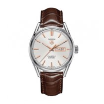 TAG Heuer Carrera Calibre 5 Staal 40mm Wit