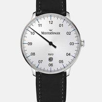 Meistersinger Neo Plus Steel 40mm Silver Arabic numerals