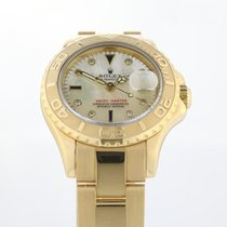 Rolex Yellow gold Automatic 29mm pre-owned Yacht-Master