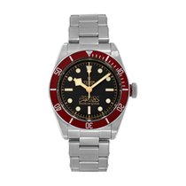 Tudor Black Bay Steel 41mm Black No numerals United States of America, New York, New York