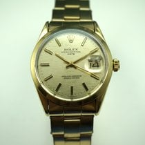 Rolex 1550 Date Gold top, steel back papers,books,hang tags...