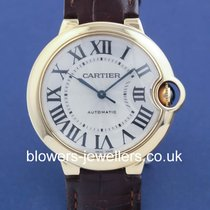 Cartier Ballon Bleu 36mm pre-owned Yellow gold