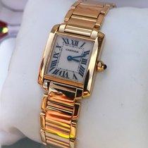 Cartier Tank Francaise Lady Yellow Gold 18 krt (Full Set)