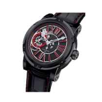 Louis Moinet Metropolis Black and Red