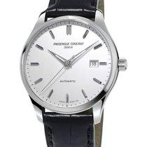 Frederique Constant CLASSICS INDEX Full Steel-White Dial-Black...
