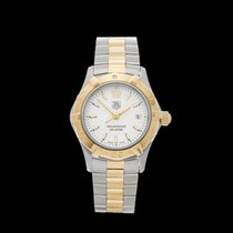 TAG Heuer Aquaracer Stainless Steel & 18k Yellow Gold Ladies...