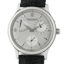 Jaeger-LeCoultre Master Réserve de Marche Steel 37mm Silver Arabic numerals United States of America, New York, New York