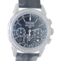 百達翡麗 Grand Complications Platinum Black Manual Wind 5271P-001