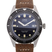 Oris Divers Sixty-Five 42mm Date Brown Leather