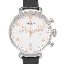 Shinola Steel 38mm Quartz S0120001930 new