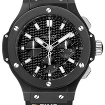 Hublot Big Bang 44 mm new 2019 Automatic Chronograph Watch with original box and original papers 301.CI.1770.RX