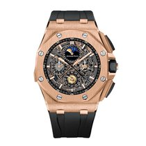 Audemars Piguet new Automatic 44mm Rose gold Sapphire Glass