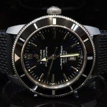 Breitling Superocean Héritage 46 Ocel 46mm Černá