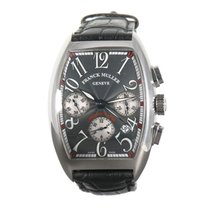 Franck Muller 36mm Automatic pre-owned Cintrée Curvex Grey
