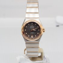 Omega Constellation Ladies Gold/Steel 27mm Mother of pearl No numerals United Kingdom, Faversham