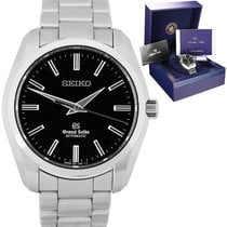 Seiko Grand Seiko Steel 42mm Black United States of America, New York, Massapequa Park