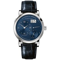 A. Lange & Söhne Lange 1 White gold 38.5mm Blue United States of America, Pennsylvania, Holland