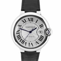 Cartier Ballon Bleu 42mm Steel 42mm Silver Roman numerals United States of America, New York, Massapequa Park