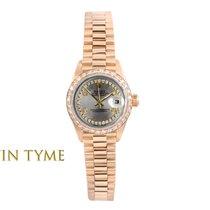 Rolex Lady-Datejust Жёлтое золото 26mm Cеребро