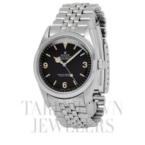 Rolex Steel Automatic Black Arabic numerals 36mm pre-owned Explorer
