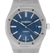 Audemars Piguet Royal Oak Selfwinding Staal 41mm Blauw