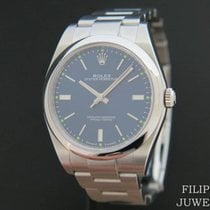 Rolex Oyster Perpetual 39 Steel 39mm Blue