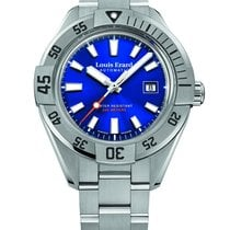 Louis Erard La Sportive Steel 44mm Blue