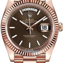 Rolex Aur roz 40mm Atomat 228235 nou