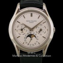 Patek Philippe Perpetual Calendar White gold 36mm No numerals