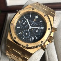 Audemars Piguet Royal Oak Chronograph occasion Bleu Or jaune
