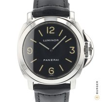 Panerai Luminor Base Acciaio 44mm Nero Arabo