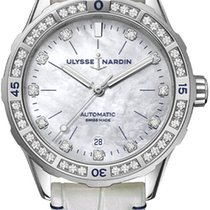 Ulysse Nardin Lady Diver Steel 39mm Mother of pearl United States of America, New York, Airmont