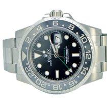 Rolex GMT Master II Ceramic Bezel Stainless NEW 116710LN
