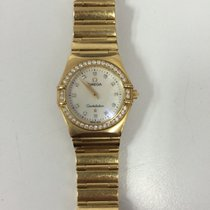Omega Constellation (Submodel) pre-owned Yellow gold