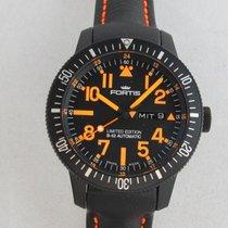 Fortis B-42 Black Titanium 44mm Black Arabic numerals