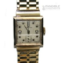 Longines 14k Yellow Gold Vintage 17 Jewel