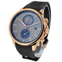 IWC IW390209 Portuguese Yacht Club Chronograph - Rose Gold on...