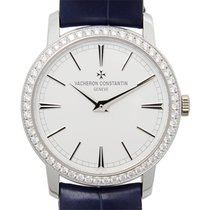 Vacheron Constantin Traditionnelle 18k White Gold White Manual...