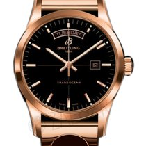 Breitling Transocean Day Date 18k Rose Gold R4531012/BB70-223r