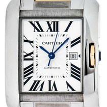 Cartier Tank Anglaise 39.2mm Silver