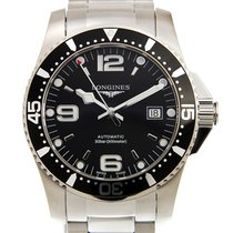 Longines Conquest Stainless Steel Black Automatic L3.742.4.56.6