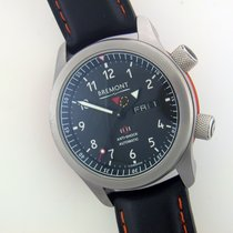 Bremont MB II steel automatic chronometer watch