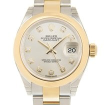 勞力士 Lady Datejust Gold And Steel Silver Automatic 279163GSV_O