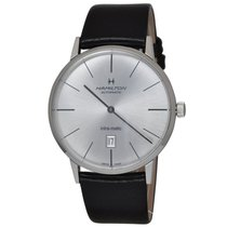 Hamilton Intra-Matic Steel 42mm Silver