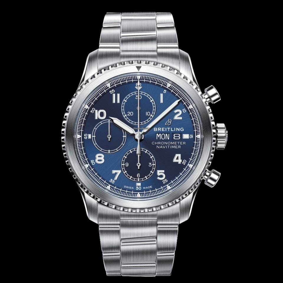 998df7700f9 Breitling NAVITIMER 8 CHRONOGRAPH 43 for $4,686 for sale from a Trusted  Seller on Chrono24