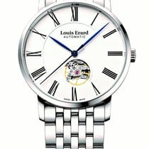 Louis Erard Steel 40mm Automatic 62233AA10.BMA35 new
