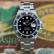 """Rolex Submariner Date 16610 """"TRITIUM"""" - X-Serie 1991 - UNPOLIERT"""