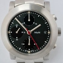 M&M Swiss Watch Stål 38mm Automatisk 5333 ny
