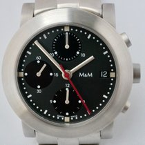 M&M Swiss Watch Steel 38mm Automatic 5333 new